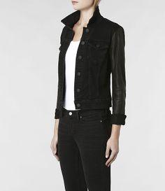 AllSaints Heyward Denim Jacket   Womens Denim Jackets