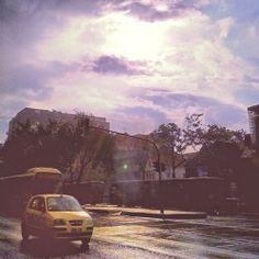 Sol y lluvia. Bogotá. #Bogotá #Bogota #Colombia #Kolumbien #Stadt #ciudad #city