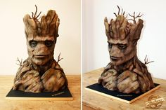 Guardians Of The Galaxy's Groot Cake Is Out Of This World! We can't believe this is a CAKE!