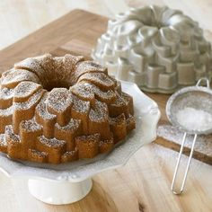 Nordic Ware Blossom Bundt® Cake Pan from Williams Sonoma. Shop more products from Williams Sonoma on Wanelo. Bundt Cake Pan, Cake Pans, Bundt Pans, Food Cakes, Cupcakes, Cupcake Cakes, Nordic Ware, Homemade Desserts, Baking Supplies