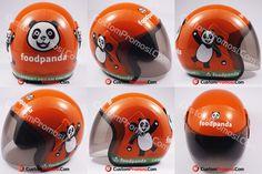 """Helm Pesanan """"FOOD PANDA"""" Untuk Harga Hubungi +6281287068190"""