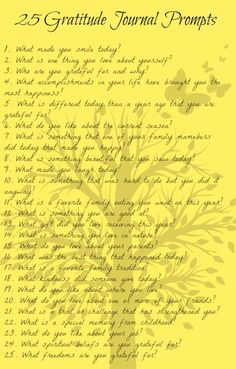 Mella, I am going to write this out one by one, and put them in the Joy Jar you made me! 25 gratitude journal prompts with questions and ideas to help make journal writing easy. Free PDF bookmark printable to keep the list handy in your journal. Bujo, Gratitude Journal Prompts, Gratitude Ideas, Journal Topics, Gratitude Quotes, Journal Entries, Journal Ideas, Gratitude Tattoo, Journal Prompts For Teens