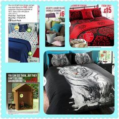 In stock and available to collect NOW. Our tiger bedset are a sellout, i only have a handful available in King Size - £25. Payment reserves. I have 2 cushions in heather (pink) and 4 in teal, £6 each. Boys fleece set, but the star fleece and get the plain blue free only £8 - 2 available. And our 2 way bird nesting boxes are our most popular item, watch your garden birds go about nesting and breeding while they cant see you, only £10. PM me for details, free local delivery. (Swindon)… Bird Nesting Box, Nesting Boxes, Garden Birds, 10 Pm, King Size, Bedding Sets, Comforters, Teal, Cushions