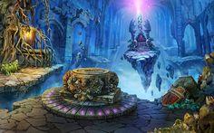 Fantasy Digital Artwork by Louie Lorry