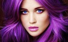 Pure Purple Hair