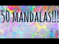 APRENDE A HACER MANDALAS I Mandalas fáciles | Como dibujar mandalas facil paso a paso ♥ Qué cositas - YouTube