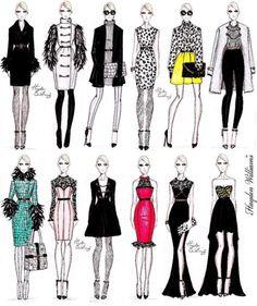 fashion design- fashion illustration