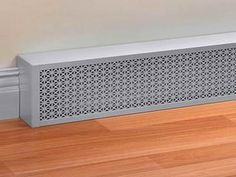 Could make with wooden frame.... Excellent Hot Water Baseboard Heater Covers