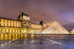 After the Rain / The Louvre by maxlezh #travel #traveling #vacation #visiting #trip #holiday #tourism #tourist #photooftheday #amazing #picoftheday