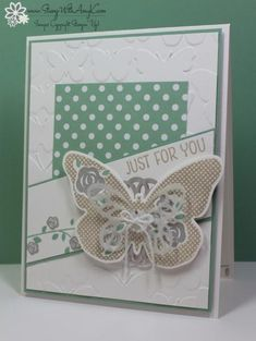 Floral Wings Just For You by amyk3868 - Cards and Paper Crafts at Splitcoaststampers