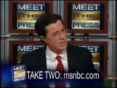 ▶ The Real Stephen Colbert (Out of Character) - YouTube SUPER interesting take on the ACTUAL person and the persona--POV? Tone? SOAPSTone?