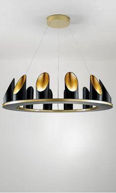Buy Chelsom Custom Crown LED Chandelier online with Houseology's Price Promise. Interior Lighting, Home Lighting, Lighting Design, Pvc Pipe Crafts, Bamboo Light, Deco Luminaire, Club Lighting, Bamboo Design, Led Diy