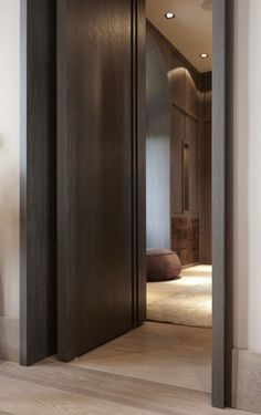 Search for our thousands of Interior Wood Doors available in a variety of designs, styles, and finishes. House Exterior, Windows And Doors, Real Wood Front Doors, House Entrance, Interior, Contemporary Doors, House Doors, Wood Doors Interior, Doors Interior