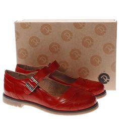 89aeb048b6 red or dead red marybeth flat shoes Oxford Cipők, Lányka Cipők, Alkalmi Cipő
