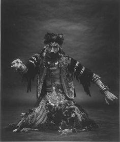 1970's John Compton male belly dancer