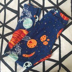 LuLaRoe Pants - Lularoe BNWT Navy Tween Planets!!