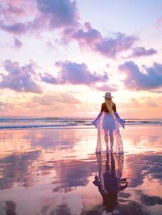 Legian Beach Sunset, Bali PC - @bobbybense
