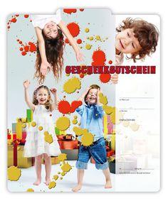 Gutschein FA253 für Kindermodengeschäfte Kind Mode, Gifts, Kids