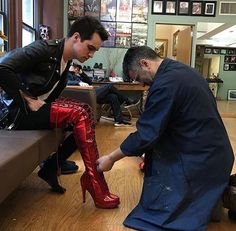 Brendon Urie Kinky Boots