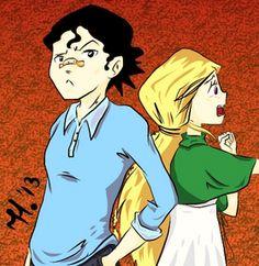main characters, Miles Gerard and Sara