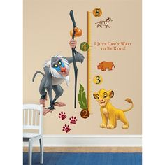 The Lion King Growth Chart RMK1924SLM  $26.49