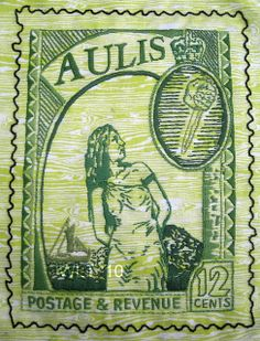 Iphigenia in Aulis Commemorative Stamp by Penny Nickels, via Flickr