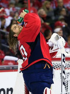 Braden Holtby #70 Washington Capitals! May we pause for a moment from our sponsor: Pert Commercial Moment