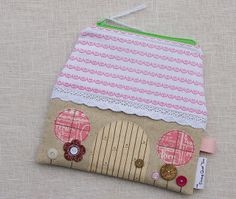 House Pouch by During Quiet Time (Amy), via Flickr