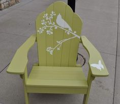 """Sitting Pretty"" Painted Bench"