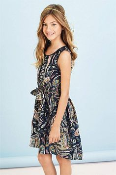 47a28992b0 Girls Dresses Online - 3 to 16 years - Next Printed Tunic My Princess