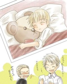 Cute little Germany aka black mail don't let Romano get a hold of that!