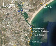 O que fazer em Lagos - Algarve: Praia de Dona Ana