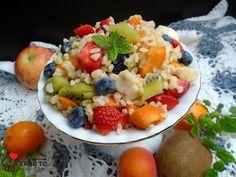 Zrób to smacznie           : OWOCOWA SAŁATKA Z KASZĄ BULGUR Fruit Salad, Food, Bulgur, Fruit Salads, Essen, Meals, Yemek, Eten