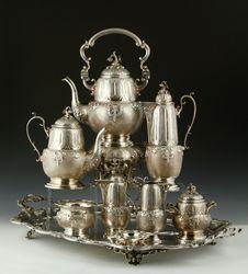 Fornari Roma Sterling Tea Set Kaminski's April 26th Estate Sale