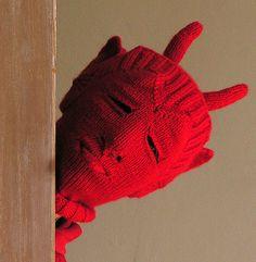 Free Gargoyle Bokaclava knitting pattern by designer Anne-Marie Dunbar for registered (free) Ravelry users.