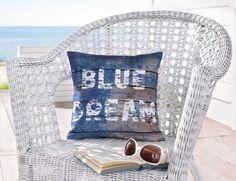 "Kissen ""Blue Dream"""
