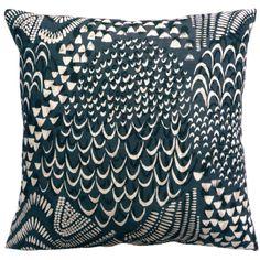 Starling Grey cushion // imogen heath