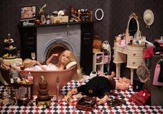 Barbie in Real Life by Mariel Clayton Barbie Funny, Barbie Doll Set, Bad Barbie, Barbie And Ken, Barbie Humor, Barbie In Real Life, Barbie Life, Elmo, Creepy History