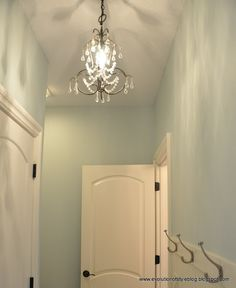 My absolute favorite paint color! Sea Salt by Sherwin Williams ❤ So fresh and…