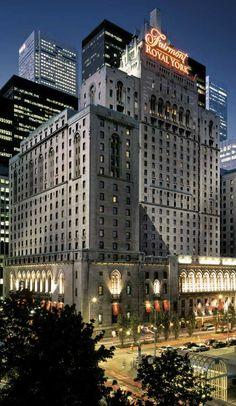 Royal York Hotel, de Toronto. Eso nunca va a olvidar Me dieron una habitación libre durante más de una semana cuando mi marido estaba gravement enfermo en un hospital cercano.
