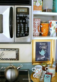 Hooks for coffee mugs to hang under kitchen cabinets