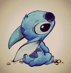 Stich = my son , he's sweet and loving, but wants to destroy everything in his path!