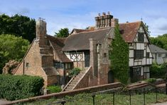 Wings Place, sometimes referred to as 'Anne of Cleves House', Ditchling, East Sussex, England, 16thC. Photo: Strutt & Parker via Country Life Read more at http://www.countrylife.co.uk/news/property-news/10-tremendous-tudor-properties-for-sale-69577#mvBIG9bZhUSJH3og.99