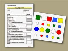 A través de la ventana: Logopedia : Token Test - Comprensión verbal