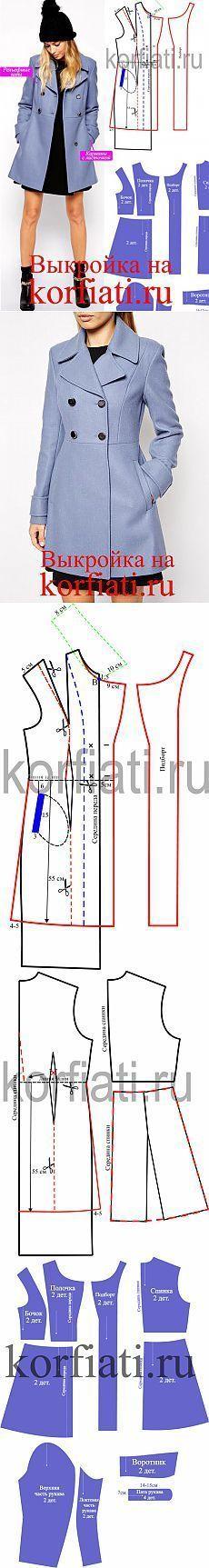 Patrón capa corta por A. Korfiati