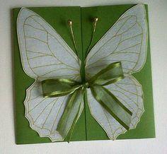 tarjetas Simple Birthday Cards, Happy Birthday, Birthday Parties, Butterfly Party, Scrapbook Cards, Scrapbooking, 3rd Baby, Birthday Invitations, Ideas Para