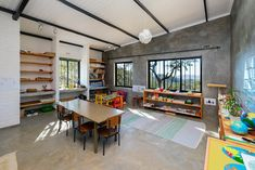 Kids struggle to concentrate and absorb information when they are too hot or too cold. IsoBoard insulated ceilings regulate the temperature, making it feel much cooler in summer AND warmer in winter.   The board can be retrofitted: either directly beneath an existing ceiling, or between beams, trusses and rafters.    #isoboard #thermalinsulation #insulatedceiling #schooldesign #classroomdesign #buildingmaterials #greenbuildingmaterials #sustainableschools #sustainablebuildings #architecture