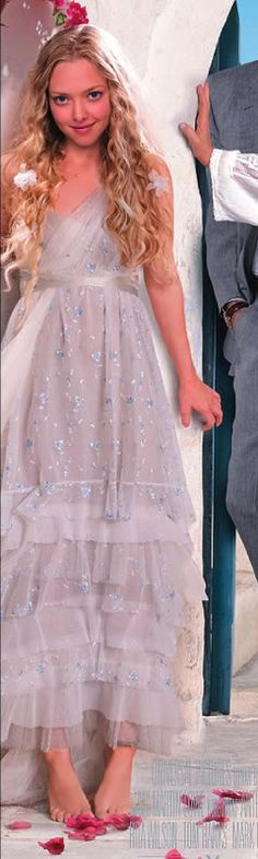 A detailed view of sophie's dress