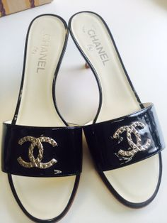 Chanel mules #designerfashion