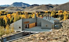 Sun Valley House by Rick Joy Architects | Simple geometry and elegant use of materials.